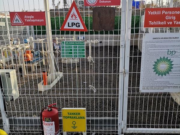 Galvanik Anotlu Katodik Koruma LPG İstasyonu